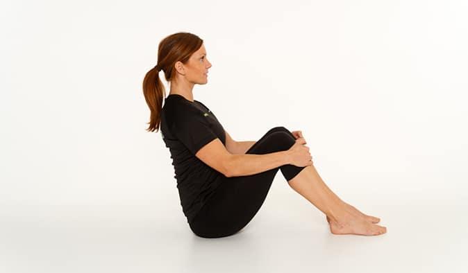 Omvända situps (rörlighetsövningar)