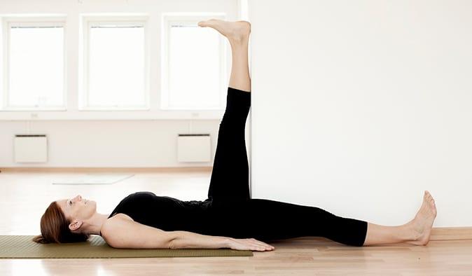 Baksida lår (stretchövning)
