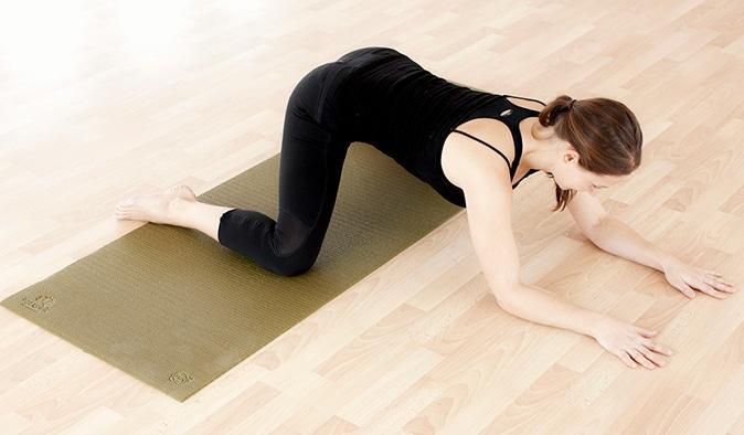 Grodan - insida lår (stretchövningar)