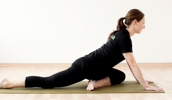 Sätestöj - löparstretch (stretchövningar)