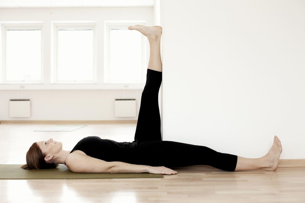 Stretching baksida lår