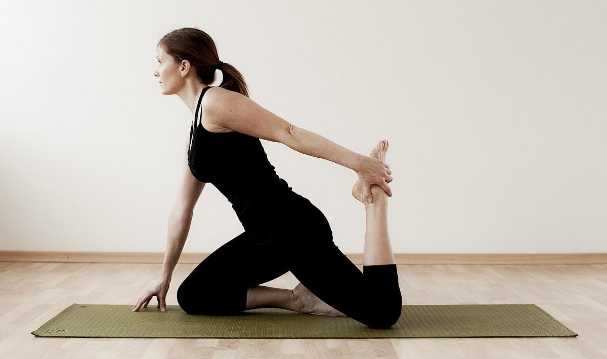 Stretching framsida lår/höftböjare 1